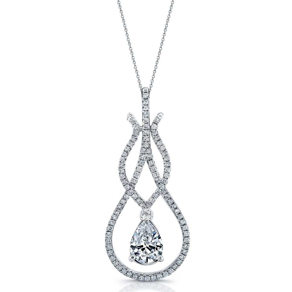 18K DIAMOND PENDANT